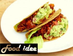 Mexicaanse Taco's met gehakt en guacamole