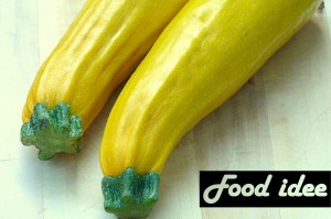 recept gele courgette