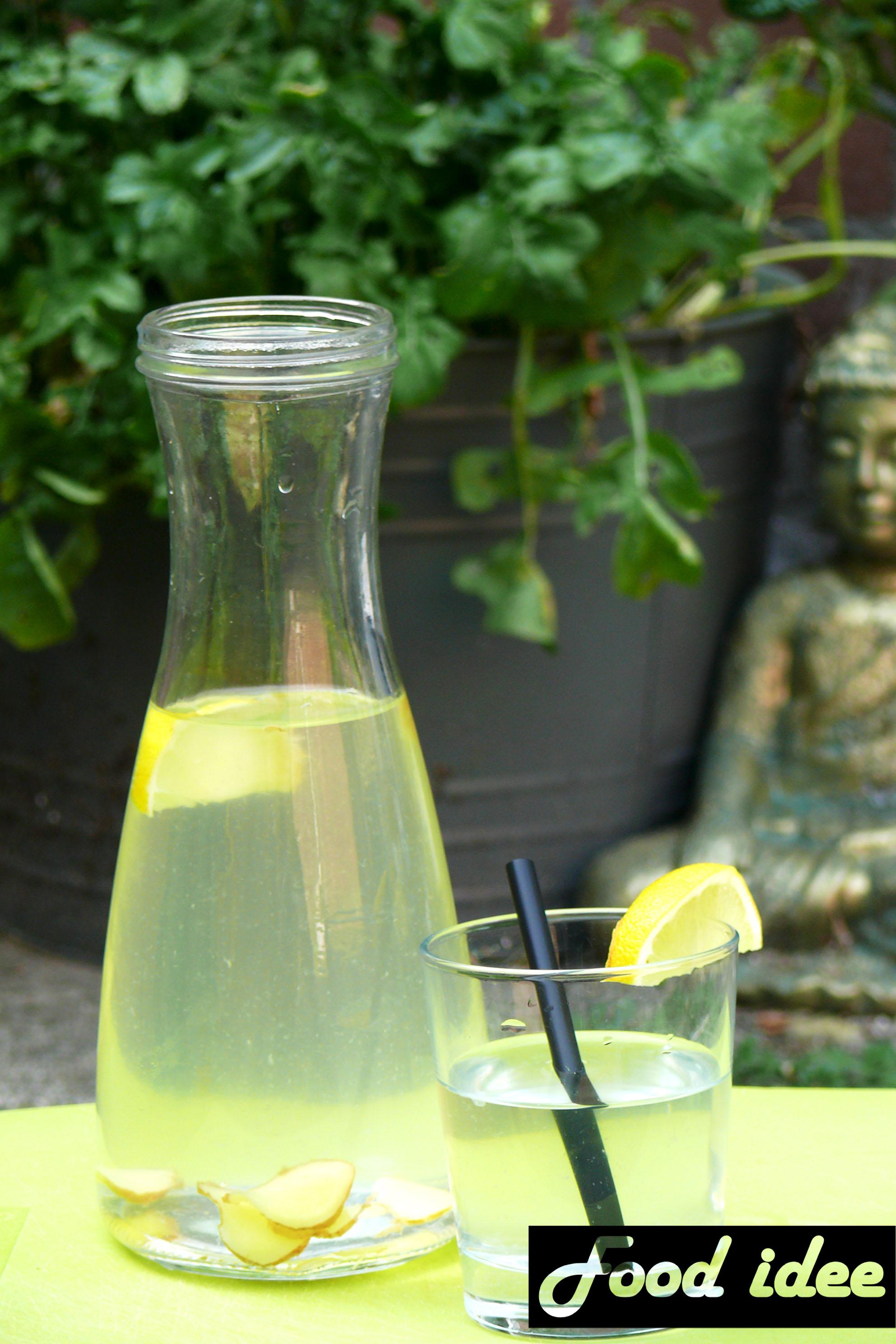 citroen gember water afvallen