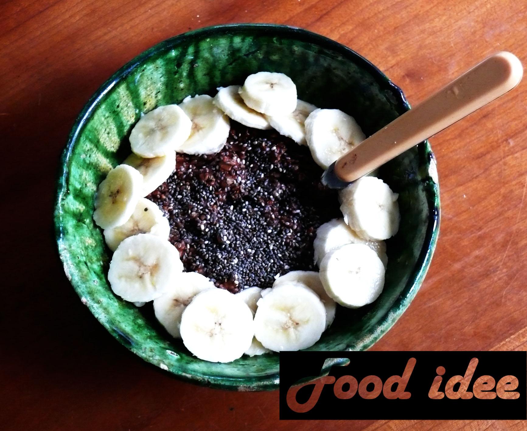 Havermout met chocolade en kokos