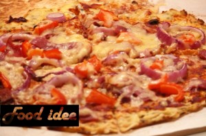 Gezonde snack: pizzabodem van bloemkool