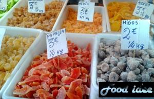 Spaans gedroogd fruit - frutos secos