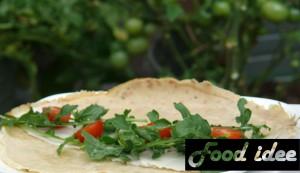 Boekweit pannenkoek met Italiaanse kruiden
